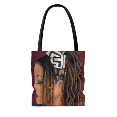 Locks 1D Tote Bag W/O Hair