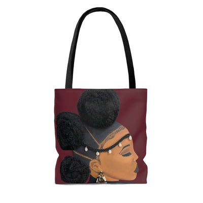 No Vaccine 2D Tote Bag (No Hair)