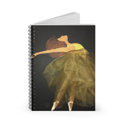 Dance Like Nobody Is Watching 2D Notebook (No Fabric)