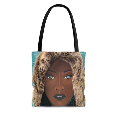 Black Ice 1D Tote Bag W/O Hair
