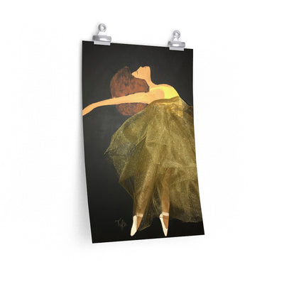 Dance Like Nobody is Watching 2D Poster Print (No Fabric)