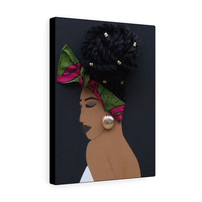 Bun Life 1D Canvas Print (No Hair)