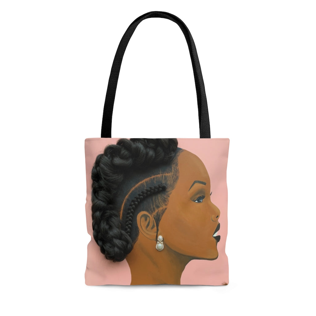Elegant 1D Tote Bag (No Hair)