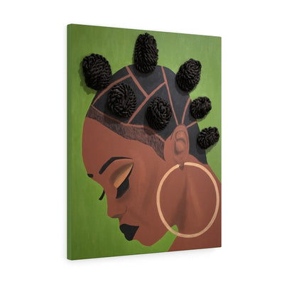 Level Up 1D Canvas Print (No Hair)