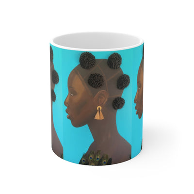 Bold and Beautiful 2D Mug (No Hair)