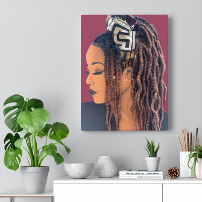 """Locks"" Premium Canvas"