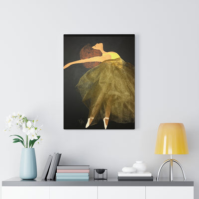 Dance Like Nobody is Watching 1D Canvas Print (No Fabric)