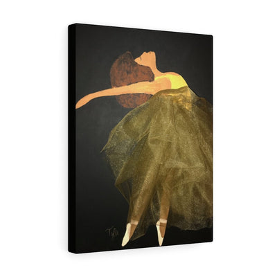 """Dance Like Nobody Is Watching"" Premium Canvas"