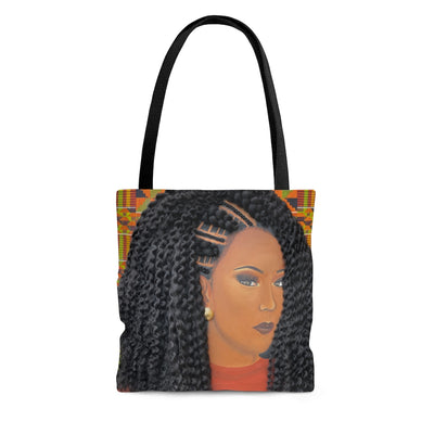 Resilient 2D Tote Bag (No Hair)