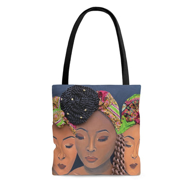 CurlFriends II 2D Tote Bag (No Hair)