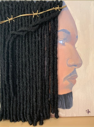 Prince of Peace - 3D Canvas Print (With Hair)