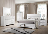 Coaster Miranda King 2-Drawer Storage Bed White