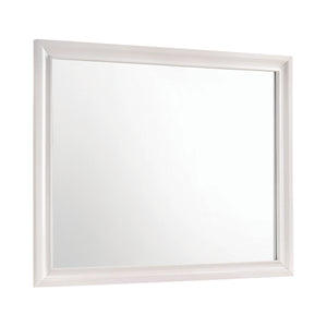 Coaster Miranda Rectangular Mirror White