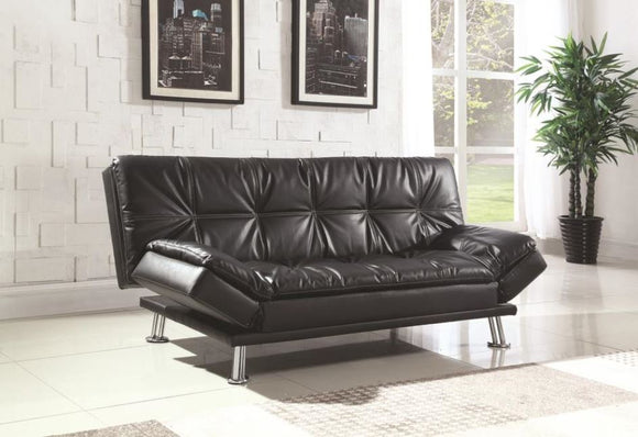 Coaster Leatherette Sofa Futon