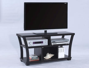 "Crown Mark 45"" TV Stand. Espresso."