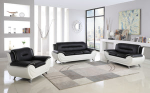 GENERATION TRADE METRO BLACK & WHTE  LIVINGROOM SET
