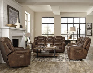 Standard Furniture Kobe Brown Power Motion 2PC Set, Brown