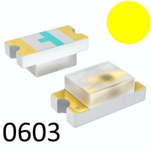 SMD 0603 Yellow LED