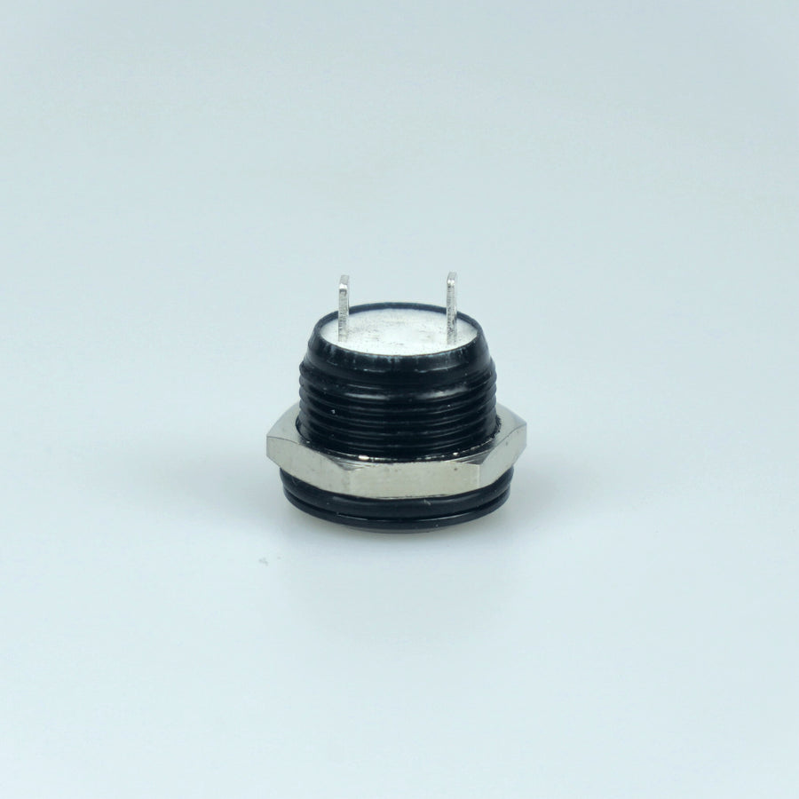 Short Body 12mm Momentary Switch Black