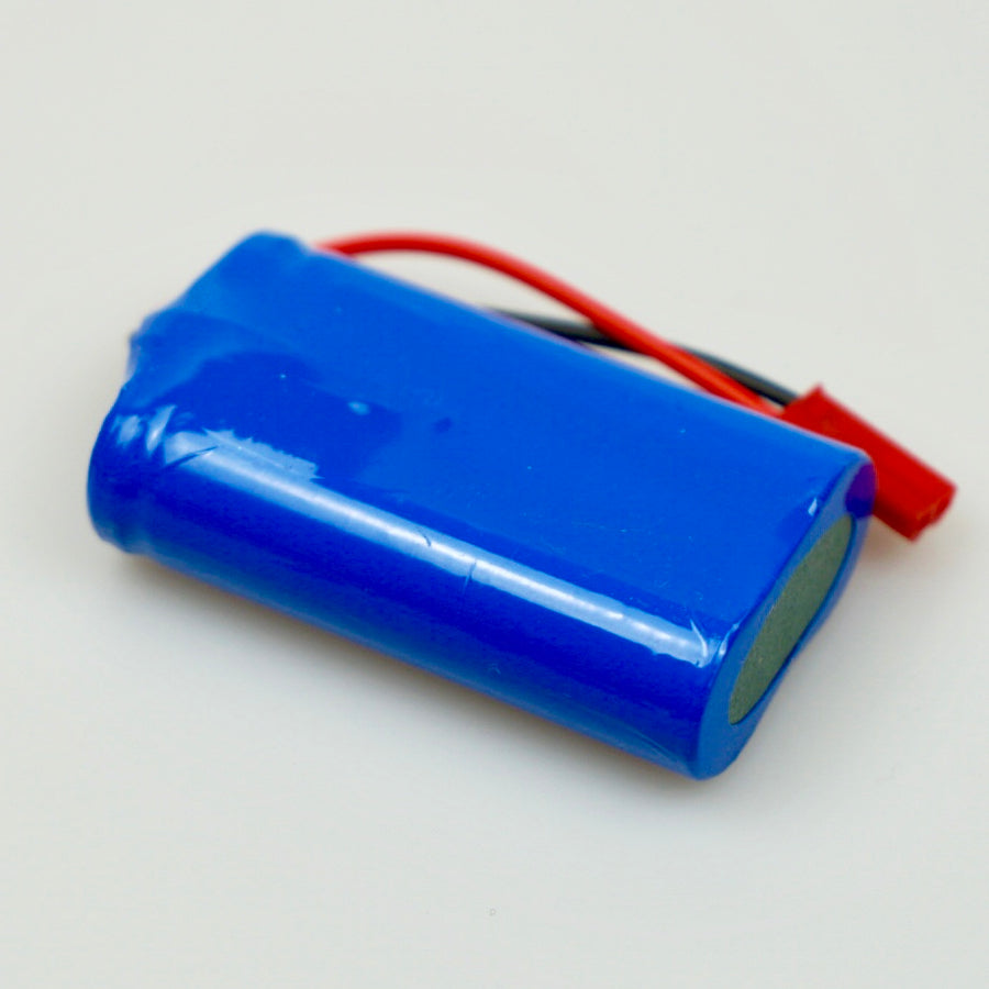 14500 3.7v Side-by-side 1400mAh PCB Protected Lithium Ion Battery Male JST