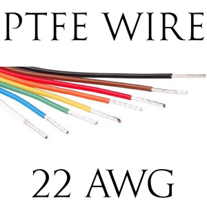 22AWG PTFE BS Spec Hook Up Wire (1 Metre Lengths)