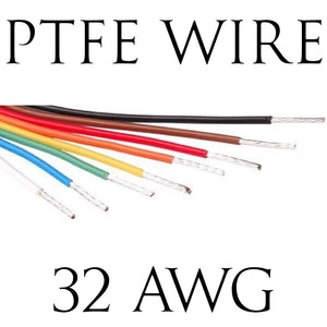 32AWG PTFE BS Spec Hook Up Wire (1 Metre Lengths)