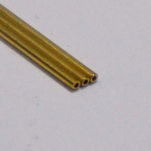 Brass Tube 1mm OD x 0.5mm ID (305mm Lengths)