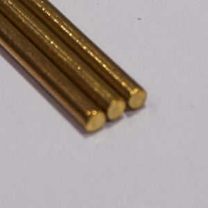 2.0mm Brass Rod (305mm Lengths)
