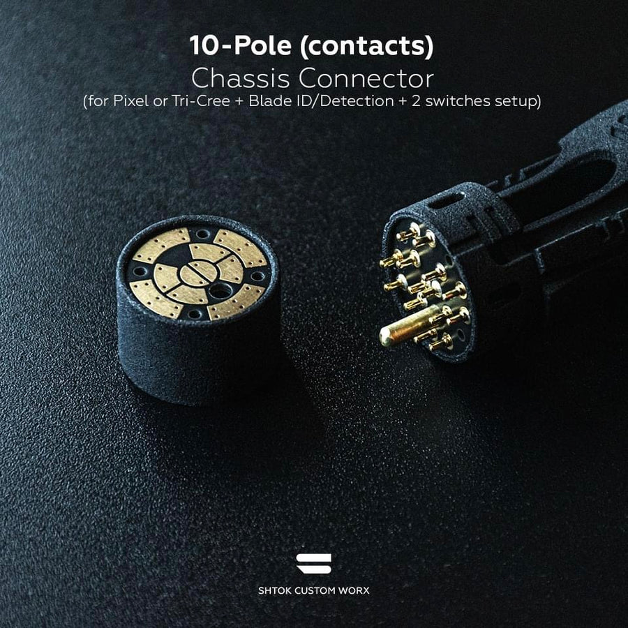 ShtokCustomWorx 10-Pole Chassis PCB Connector Set
