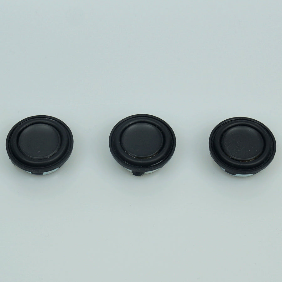 3W 28mm 4ohm OD Bass Speaker - Triple Pack
