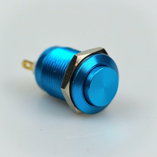 12mm Momentary Switch - Blue - High Top