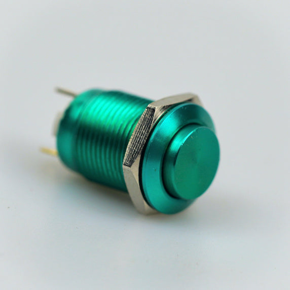 12mm Momentary Switch – Green – High Top