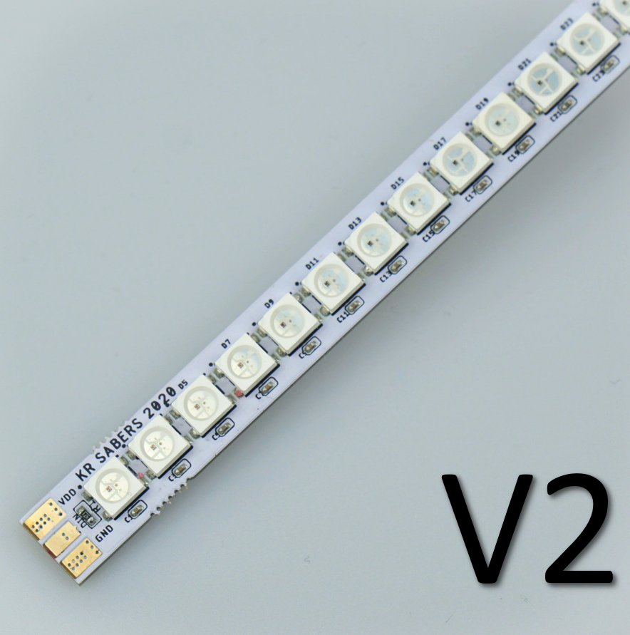 V2 KR 'Pixel Stick' Rigid LED PCB Strip