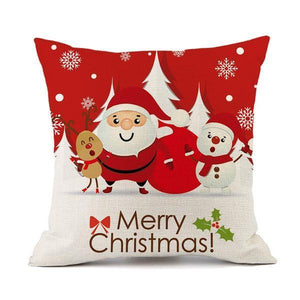 Merry Christmas Cushion Pillow Covers