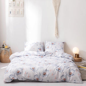 3pc Printed Bedspread Quilt Sets