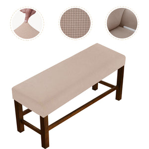 Slipcover Stretchable Pure bench Cover