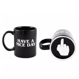 Shop Online Middle finger mug