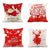 Pillow Cushion Covers Christmas