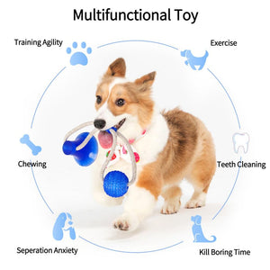 PET SUCTION CUP TUG TOY