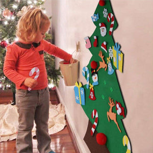 DIY Felt Christmas Tree(Best Gift For Children)