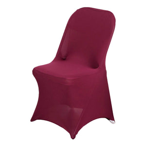 Folding chair slip covers