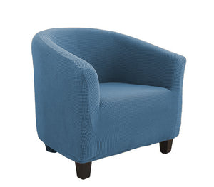 Sky Blue Club Chair Slipcover