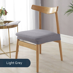 Descent Light Grey Waterproof chair covers