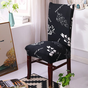 Slipcover Stretchable Pure Chair Cover