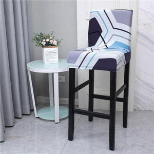 Square Bar Stools Chair Cover