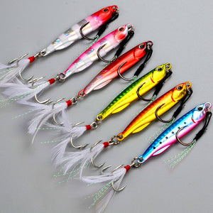 6 pcs/lot fishing lure