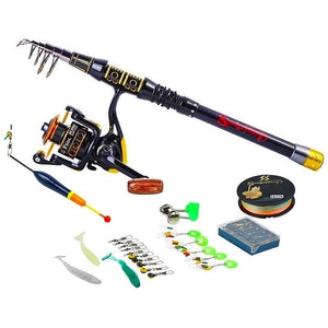 Spinning Reel Fishing Rod Full Kits