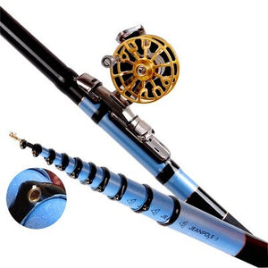 Fishing Rod Spinning Sea Telescope