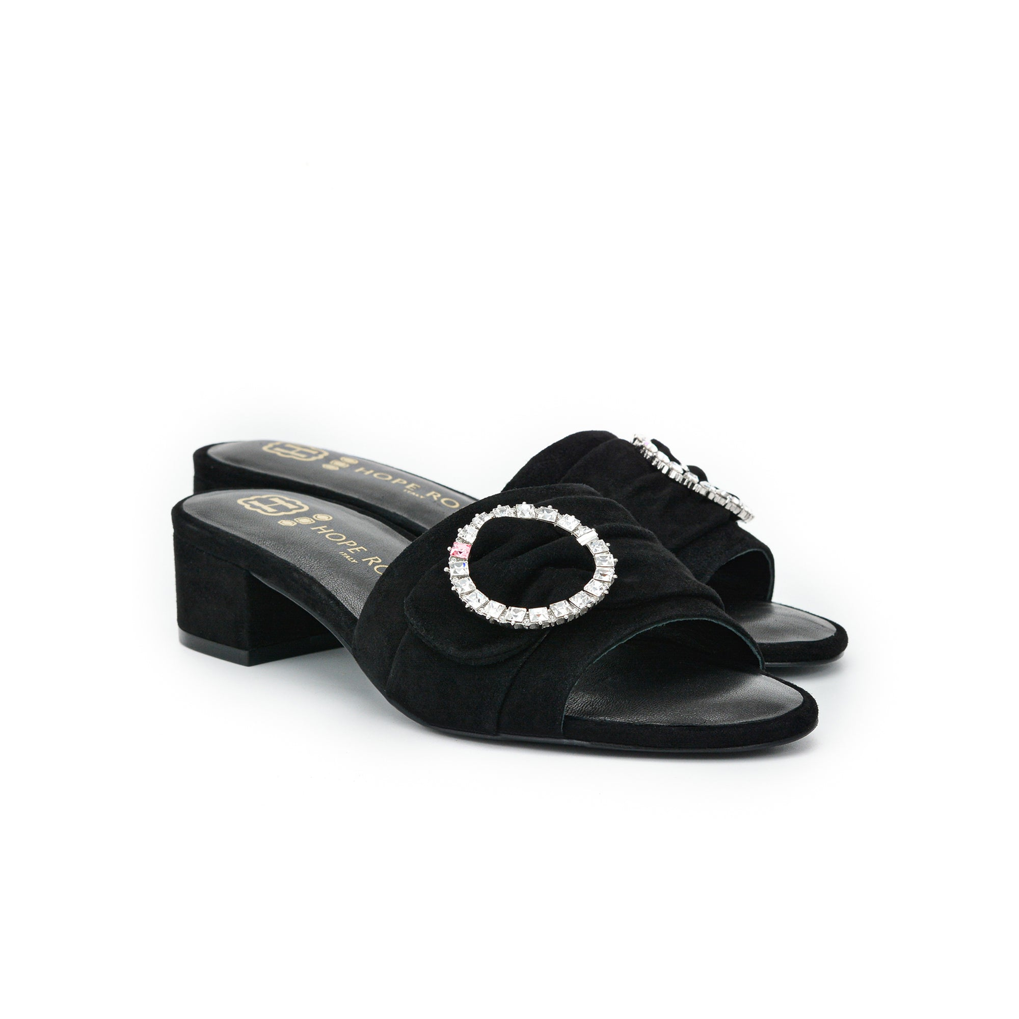 GODDESS SLIDES BLACK