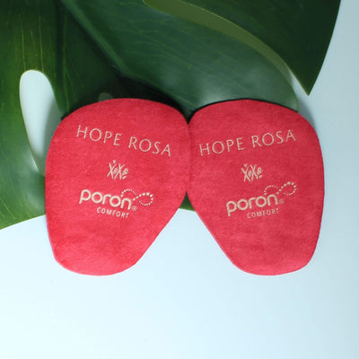 HOPE ROSA INSOLES 2-Pack Sole Spots - Black/Posh Pink